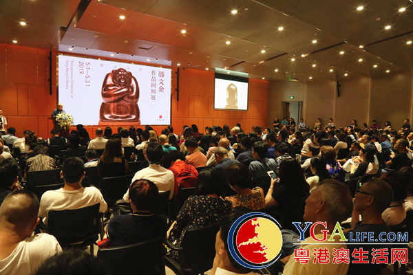 滕文金作品回顾展深圳开幕 300多件动物雕塑亮相