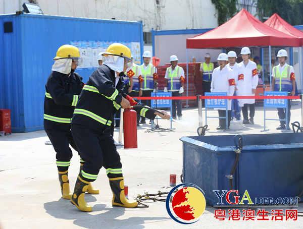 引凤筑巢 2019年安全活动月中建工地启动
