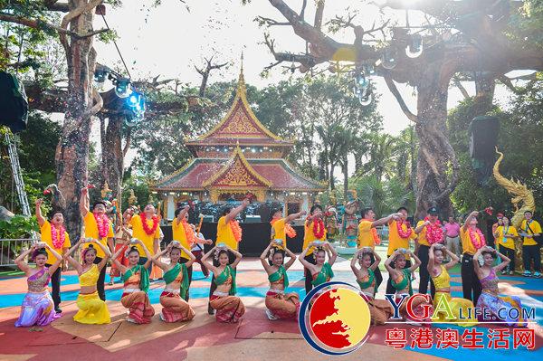 深圳锦绣中华泼水狂欢节冰爽开泼