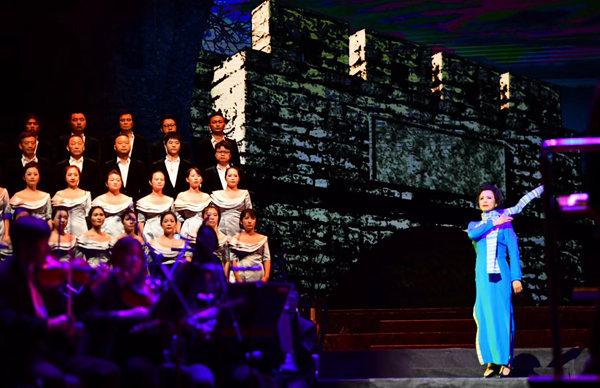深圳大剧院艺术节开幕 《江姐》带来红色视听盛宴