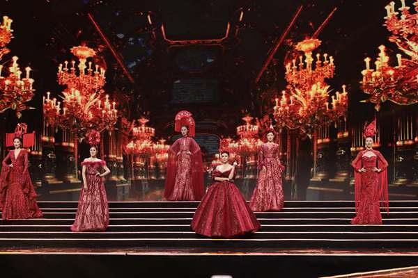雪兰方2019全球超模大赛中国冠军赛暨颁奖盛典华美启幕