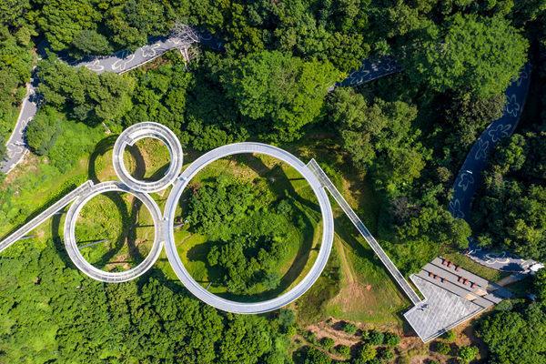 深圳光明小镇绿道三桥顺利完工 2020年将免费对外开放