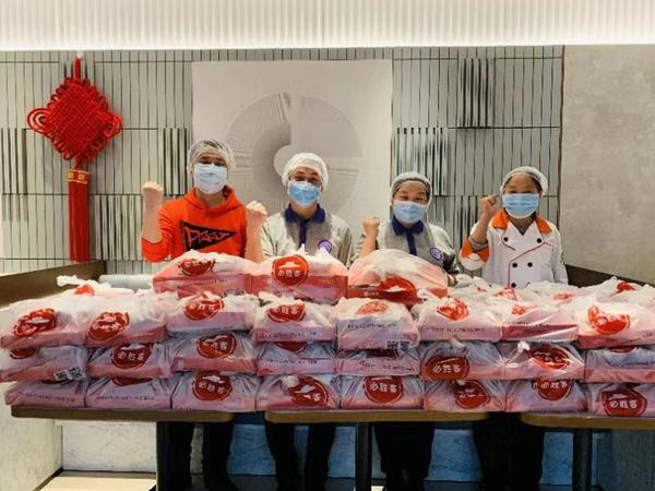 百胜中国为武汉部分重点医院医护人员供应爱心餐点
