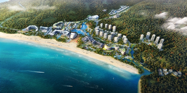深圳首条度假区定点航班线路拟落地佳兆业金沙湾