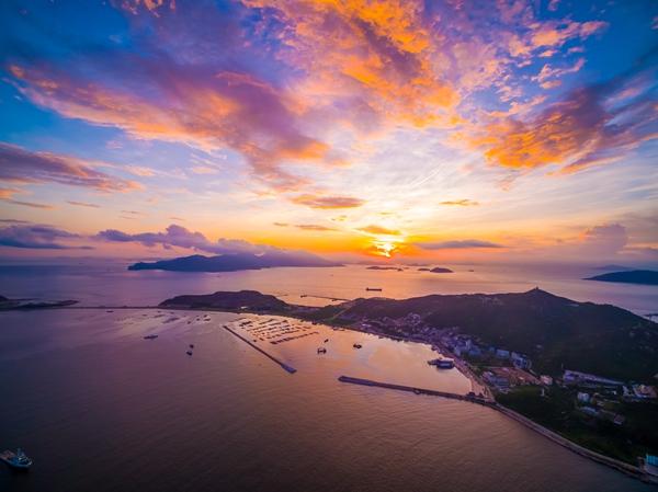 深圳航运集团于8月18日正式开通蛇口至桂山岛直航航线